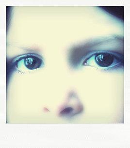 Polaroid portrait