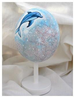 Oeuf d'autruche : rêve d'océan