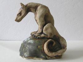 Dragon assis