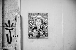 Street Art, Montmartre 1