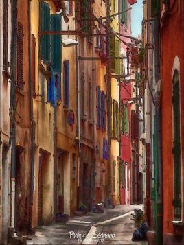 Une rue de La Ciotat