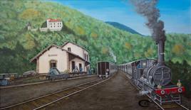 Gare de Prat-Bonrepaux 1935