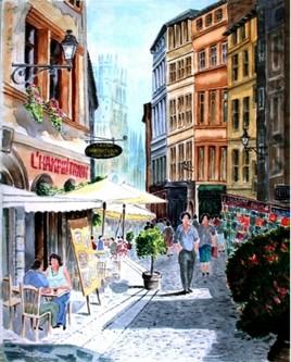 Le Lyon historique dans le quartier Saint Jean