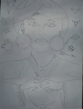 Madame irma (ébauche au crayon)