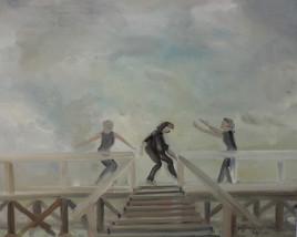 danse sur l' estacade