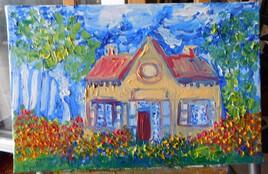 Petite maison perdue.