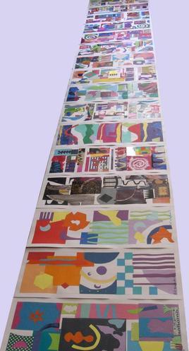 Frise de papier