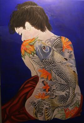 geisha tatoué