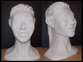 Sculpture en argile ( sculpture numéro 8 )