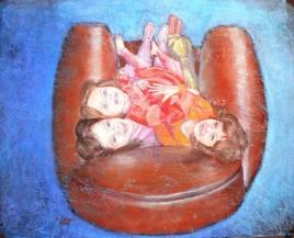 Le squat du fauteuil
