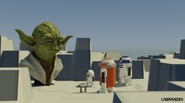 Famille R2 D2 en visite