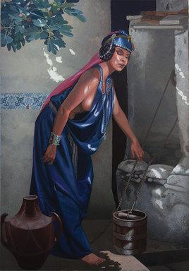 Porteuse d'eau