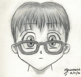 Manga à lunettes