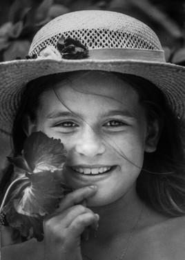 LAURENCE et l'hibiscus