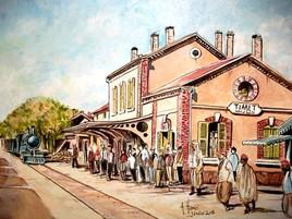 Ancienne gare de Tiaret.