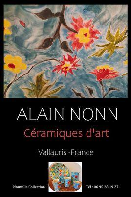 Affiche céramiques d'art  Vallauris