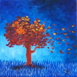 Arbre d'automne II