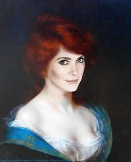 Catherine Deneuve  revisite Francesca d'Abbey Alston..