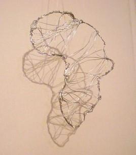 afrique en fil de fer