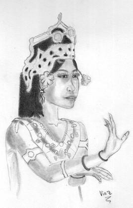 Danseuse Khmer