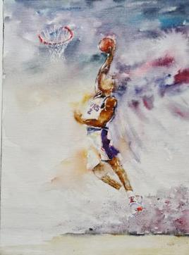 Peinture Basket 2