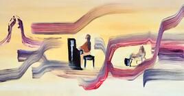 Piano en gare