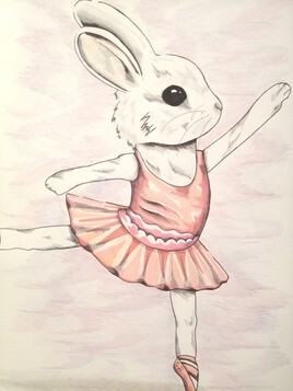 Lapin ballerine