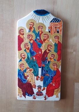 Icône de la Pentecôte (étude)