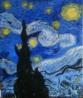 """Van Gogh - """"La nuit étoilée"""""""