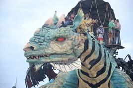 dragon  de calais