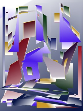 Abstraction géométrique 1) 2018