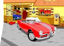 Le garage Alfa
