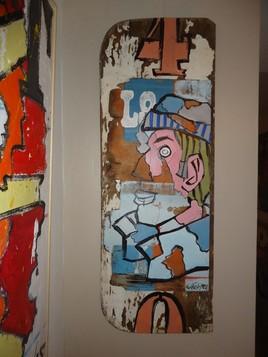 marin bois peint