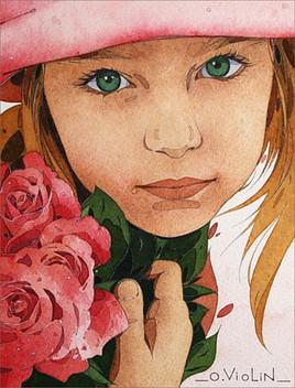 Portrait d'enfant n°5