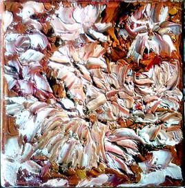 empreintes de fleurs