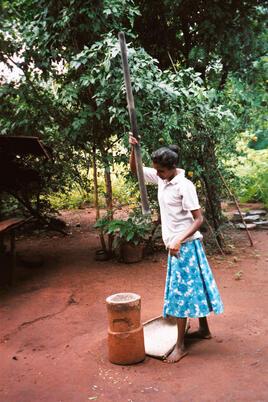 condition féminine et monde rural  2: le Sri Lanka