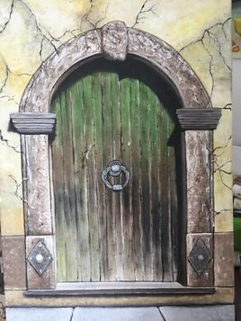 La porte.... de quoi??