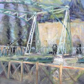 Pont levis à Magné