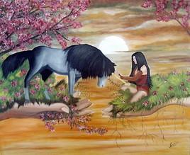 l'amitié d'une licorne et d'une fée