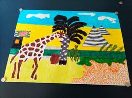 Une girafe en Egypte (56)