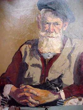 Paul Jallat l'homme au chat