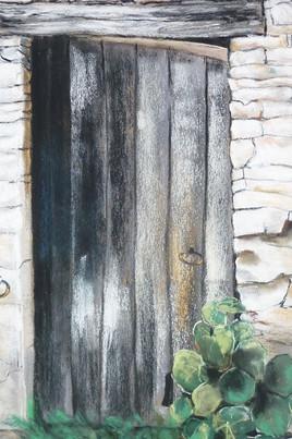 Vieille porte ( extrait )
