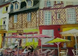 Rennes, fin de service, place Ste Anne