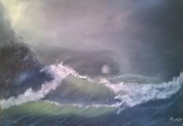 vague orage tempete