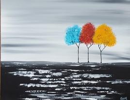 trio d'arbres