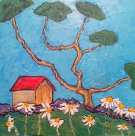 maison dans la prairie
