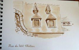Vieux Montluçon, rue du Petit Château