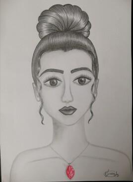 Femme au rubis