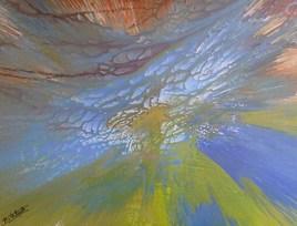 peinture abstraite composition