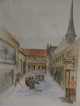 marché d ' art à Furnes